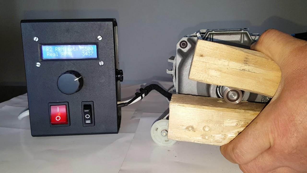 Arduino-Based Universal AC Motor Speed Controller - Arduino Project Hub