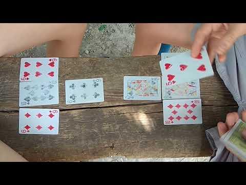 Как играть в игру футбол с картами.Обучение