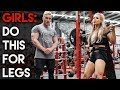 INSANE LEG WORKOUT | For Girls and Guys