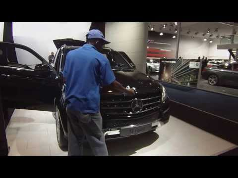 Johannesburg Motor Show Mercedes Benz