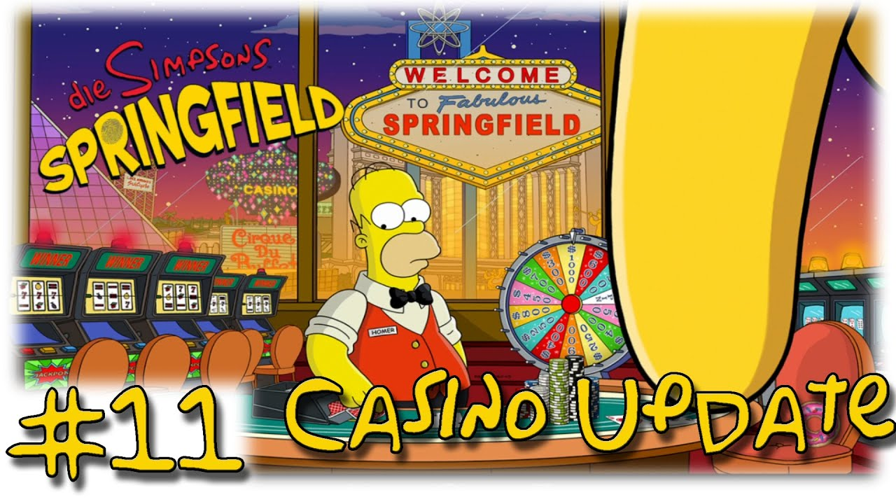 How to play casino games in simpsons tapped out