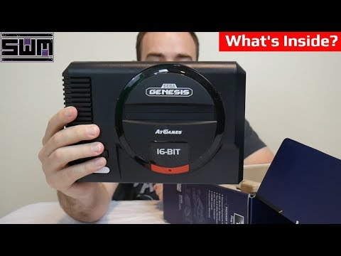 What's Inside The AtGames Sega Flashback System? | Tech Wave thumbnail
