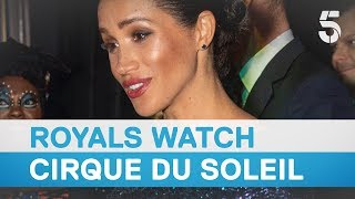 Meghan Markle and Prince Harry attend premiere of Cirque du Soleil's Totem  – 5 News