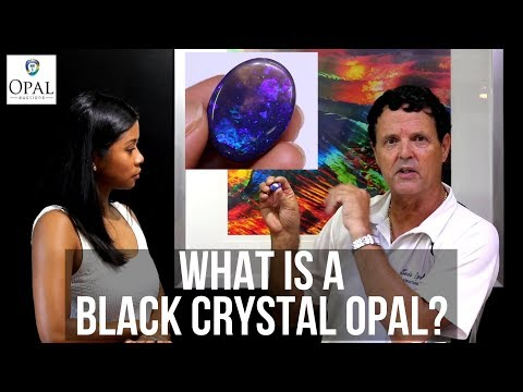 What is a Black Crystal Opal?