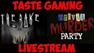 WOOO MORE TRIVIA MURDER PARTY AND ROBLOX THE RAKE | LET'S GOOO!!!