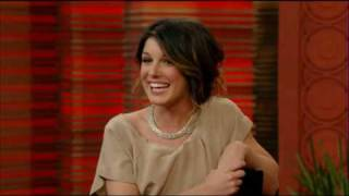 shenae grimes on live with regis and kelly 18 02 10