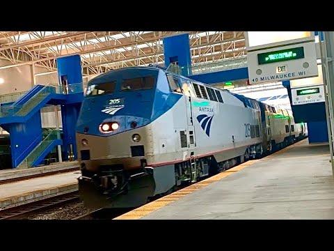 Amtrak Empire Builder Arrivals/Departures, Etc. Whitefish, Montana