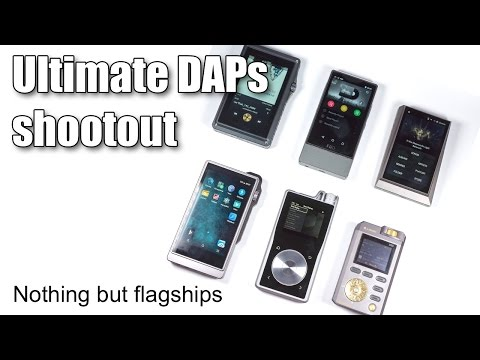 Flagship portable players comparison