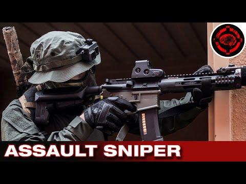 OP Devil Dog Pt 1 Milsim Gameplay: Assault Sniper