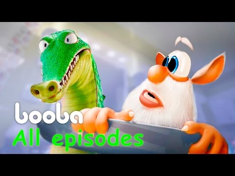 Booba - 5 Episodes Compilation (15 min) - Animated shorts