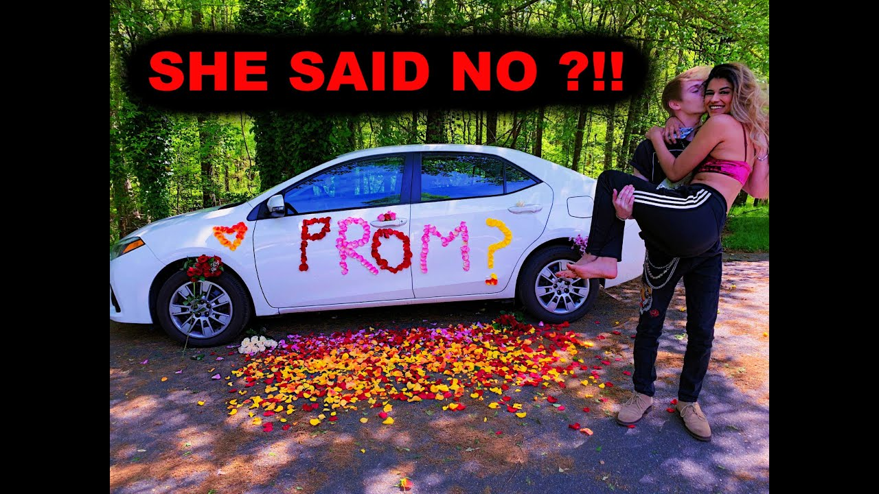 ASKING MY DREAM GIRL TO PROM ?!