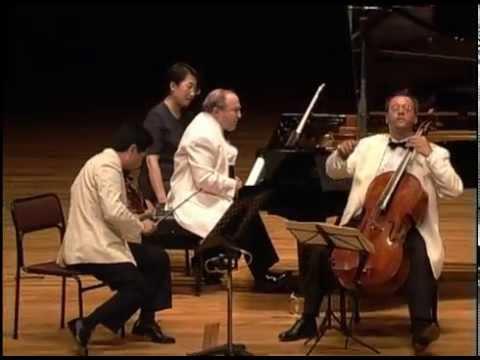 """Beethoven : Piano Trio in D Major Op.70 No1, """"Ghost"""" - Beaux Arts Trio"""