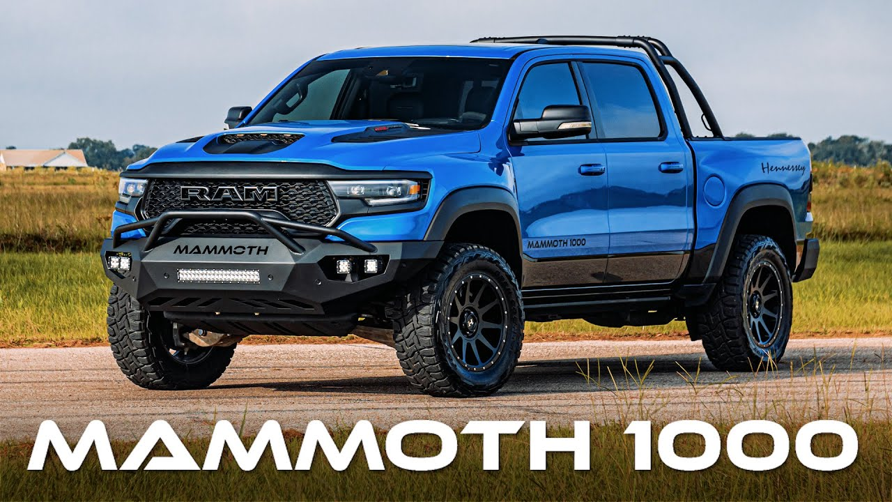Download MAMMOTH 1000 First Impression! // 1000 HP TRX by Hennessey