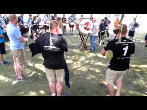 Medley Practice 2012, The New York Metro Pipe Band