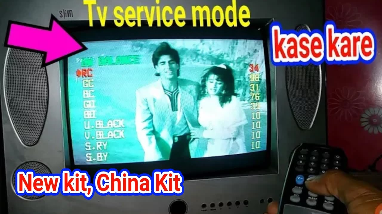 SERVICE MODE OPEN IN TV, SERVICE MODE FULL ADJUSTMENT