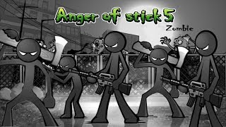 Anger of Stick 5 Apk: All Weapons Unlocked # Hacked 2018 - Android GamePlay#10