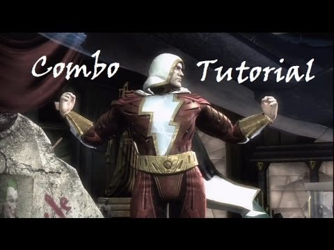 Injustice – Combo Tutorial – Shazam (43% No Super)