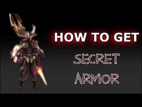 Monster Hunter World | HOW TO GET SECRET ARMOR SET!