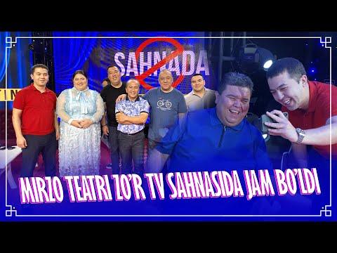 Mirzo Teatri Zo'r Tv Sahnasida Jam Bo'ldi