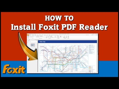 How To Install Foxit PDF Reader