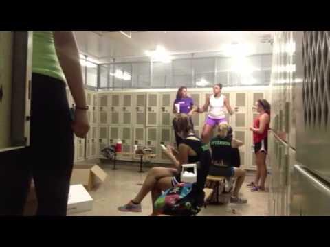 Lesbian girls locker room