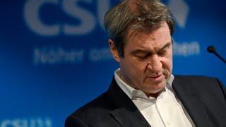 Söder hält weiter an Kanzlerkandidatur fest