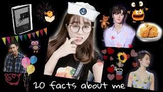 [Vlog #8] - 20 facts about me (with Engsub)