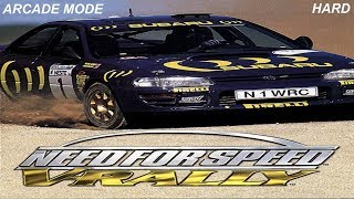 Need For Speed V Rally PS1 Arcade Mode part 16 (Hard)
