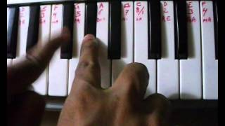 NAGIN BEEN MUSIC TUTORIAL ON PIANO