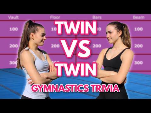 TWIN VS TWIN: Gymnastics Trivia
