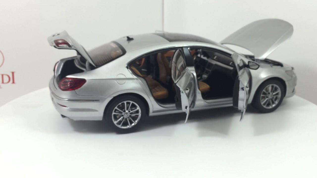 Paudi Model Vw Volkswagen Passat Cc 2011 Grey Diecast Model Car