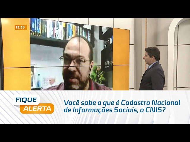 Meu INSS: Você sabe o que é Cadastro Nacional de Informações Sociais, o CNIS?