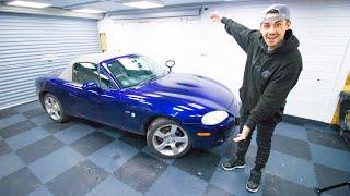 MAZDA MX5 DRIFT CAR BUILD..... RWD MACHINE!!