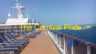 Carnival Pride (Ship) Baltimore, Grand Turk, Half Moon Cay, Freeport, Bahamas 7/30 - 8/6/2017