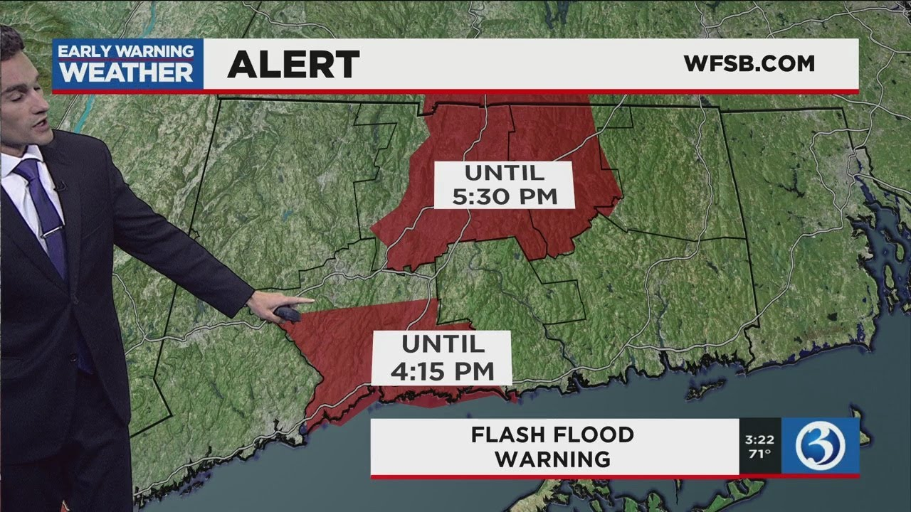 All of Connecticut under flash flood warning, tornado watches in ...