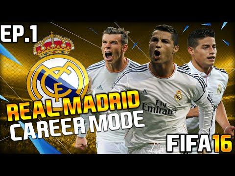 FIFA 16 l Real Madrid Career Mode l Ep.1 l thumbnail