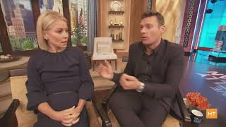 Heather Catlin chats with Kelly Ripa and Ryan Seacrest