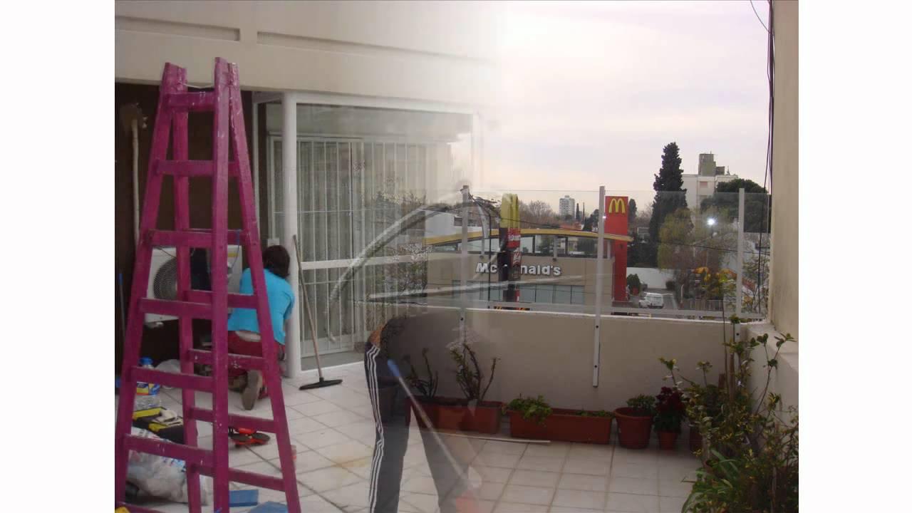 Cerramiento de balc n y baranda de aluminio eco alum - Cerramiento de balcon ...
