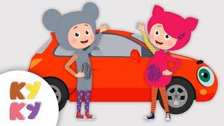 КУКУТИКИ - Машинка - Большой Сборник Песня про Машинку для Детей Мультики