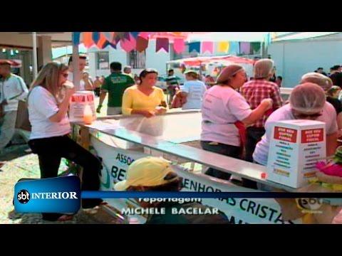Araçatuba: Quermesse solidária é realizada no calçadão