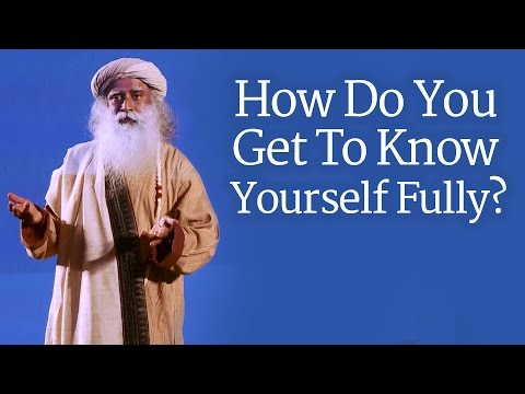 How Do You Get To Know Yourself Fully? - Sadhguru answers at Entreprenuers Organization Meet