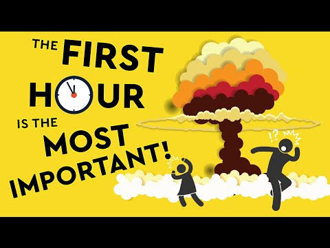 How To Survive The First Hour Of A Nuclear Blast! DEBUNKED