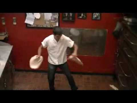 Trick Pizza Tossing