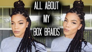 everything you need to know about box braids   kenzey cooper