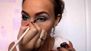 Универсальный макияж на свадьбу,свадебный макияж(Универсальный макияж на свадьбу, свадебный макияж . белые тени Inglot 318 Nars Kauai тени перламутровые Лэтуаль 617..., 2014-10-22T17:39:54.000Z)