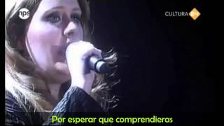 Adele Fool That I Am Subtitulada Español Ingles