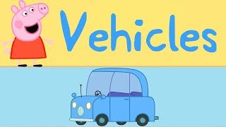 Peppa Pig - Learn Vehicles - Trains, Planes and Cars - Learn with Peppa thumbnail