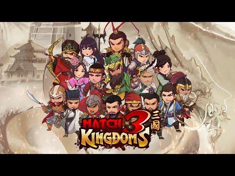 Match 3 Kingdoms: Epic Puzzle Strategy Games (Trailer)