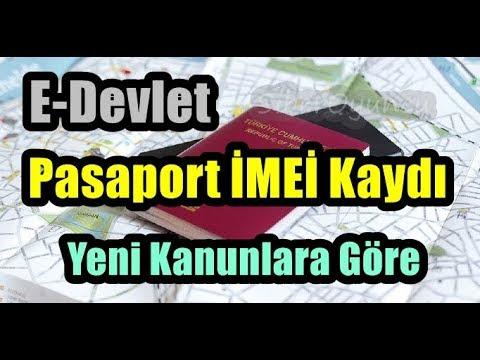 E-DEVLET Üzerinden Cep Telefonu Pasaport ( İMEİ ) Kaydı ...