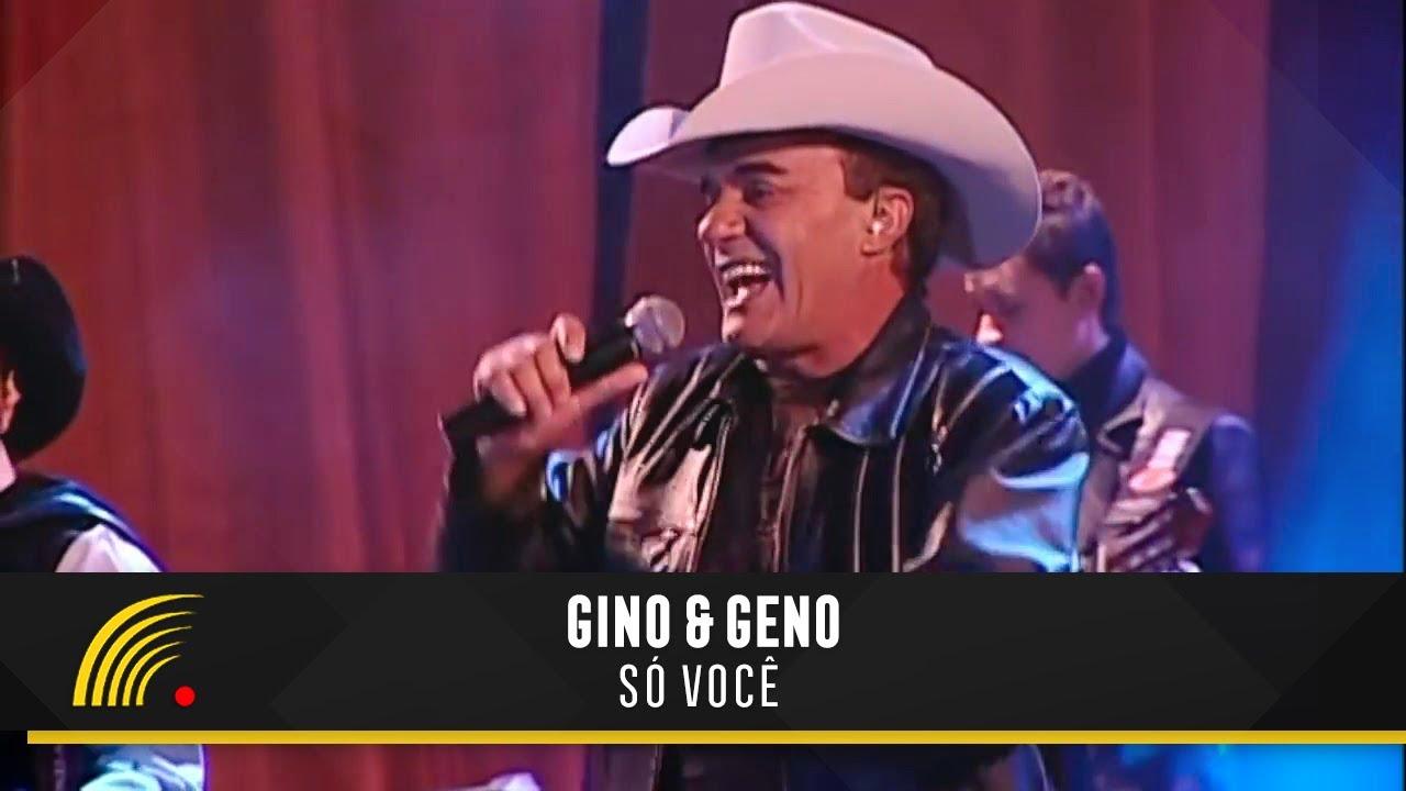 Gino Geno So Voce Oficial Ao Vivo Youtube